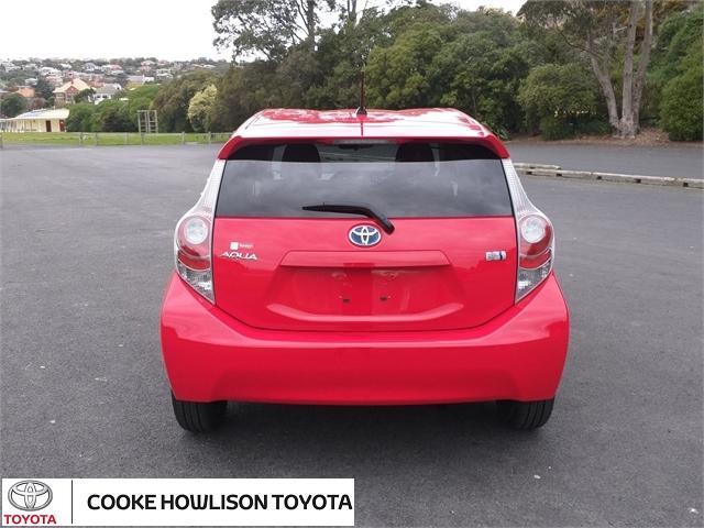 image-4, 2014 Toyota Aqua Hatchback at Dunedin