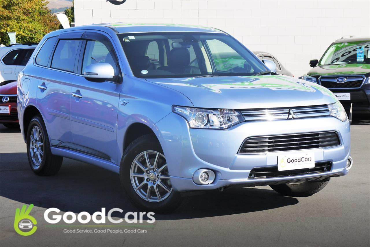 image-0, 2013 Mitsubishi OUTLANDER PHEV G AWD CRUISE at Christchurch
