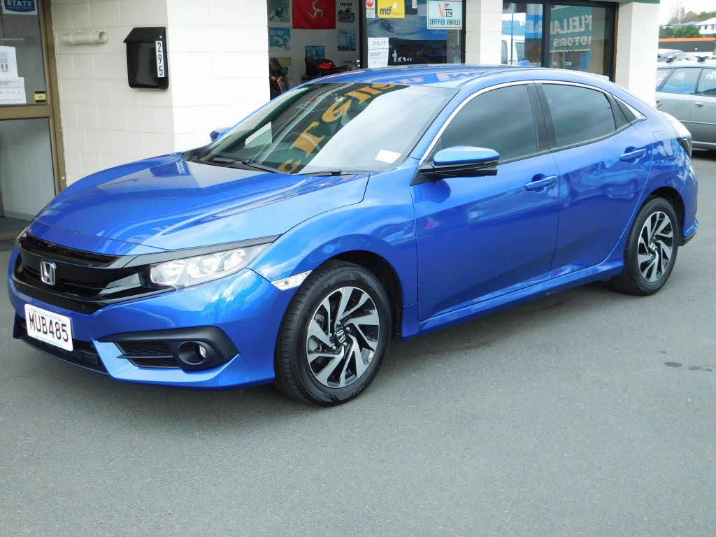 image-0, 2017 Honda Civic Liftback at Dunedin