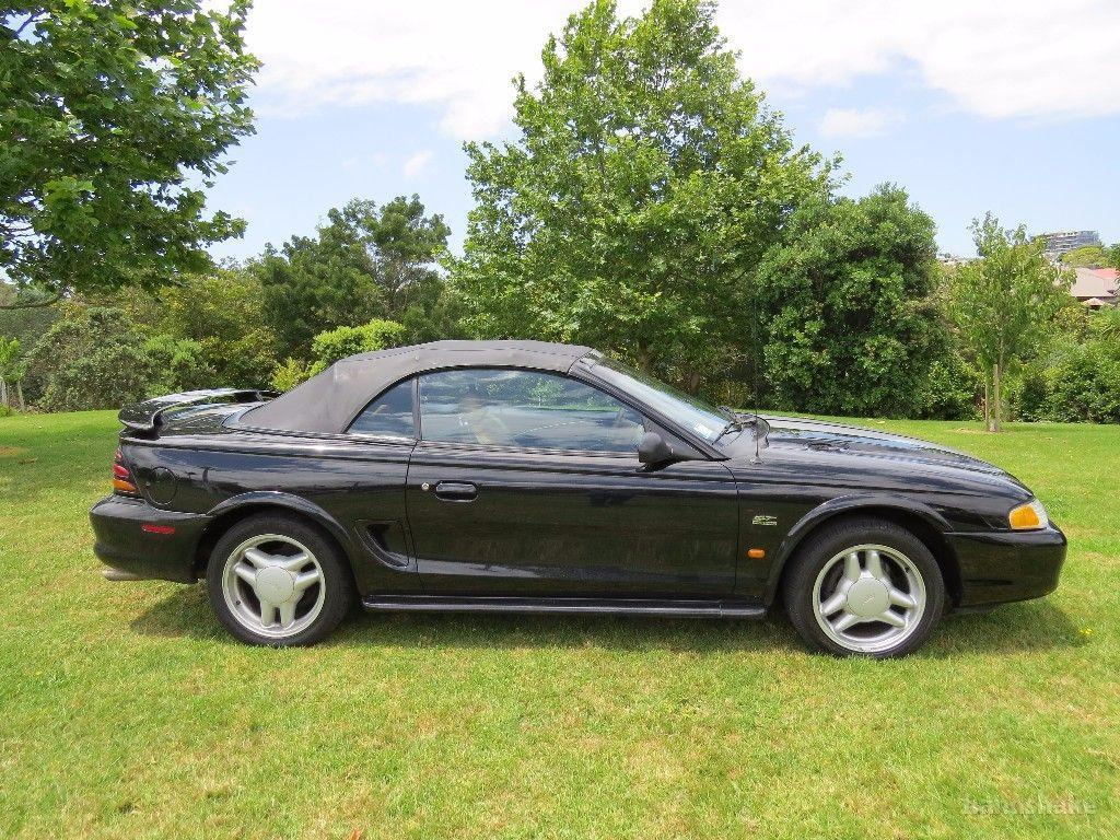 1994 ford mustang gt 5 0 v8 on handshake. Black Bedroom Furniture Sets. Home Design Ideas