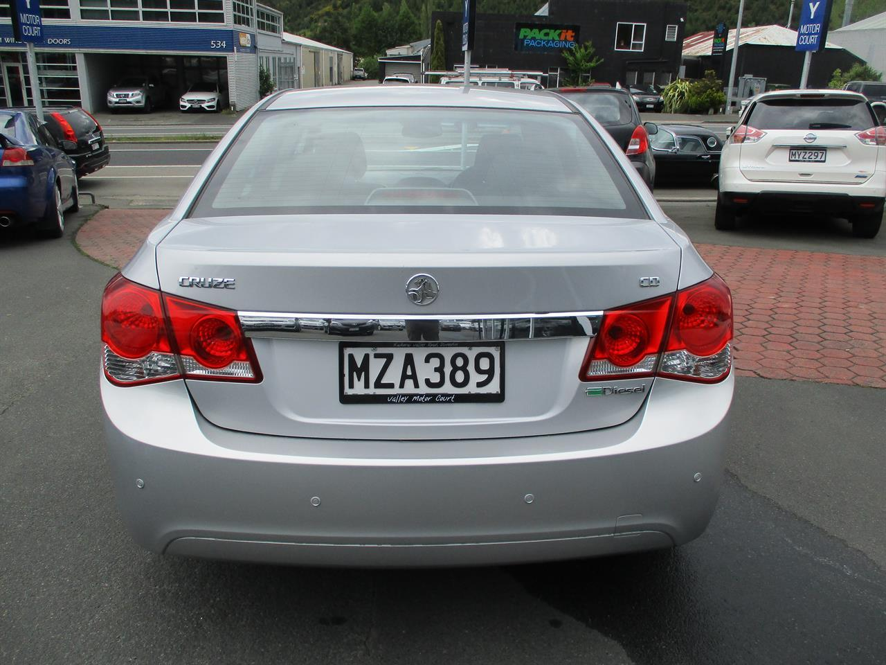 image-6, 2009 Holden Cruze CD DIESEL AUTO at Dunedin