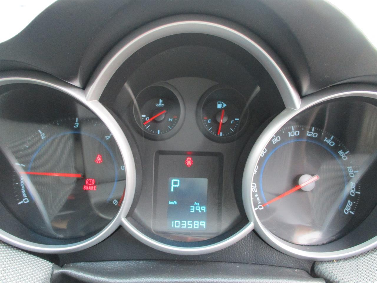 image-15, 2009 Holden Cruze CD DIESEL AUTO at Dunedin