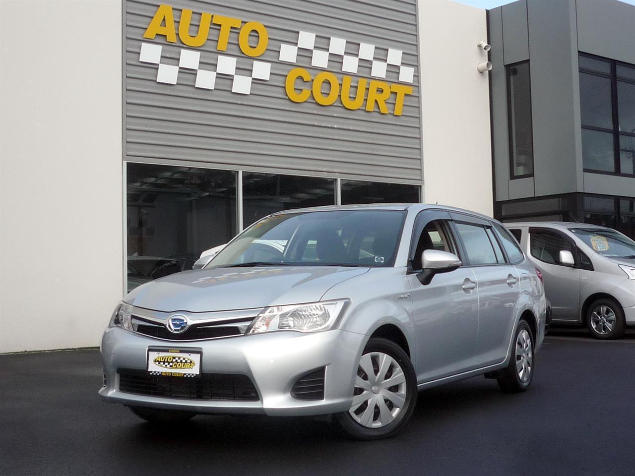 image-7, 2013 Toyota Corolla Fielder Hybrid at Dunedin