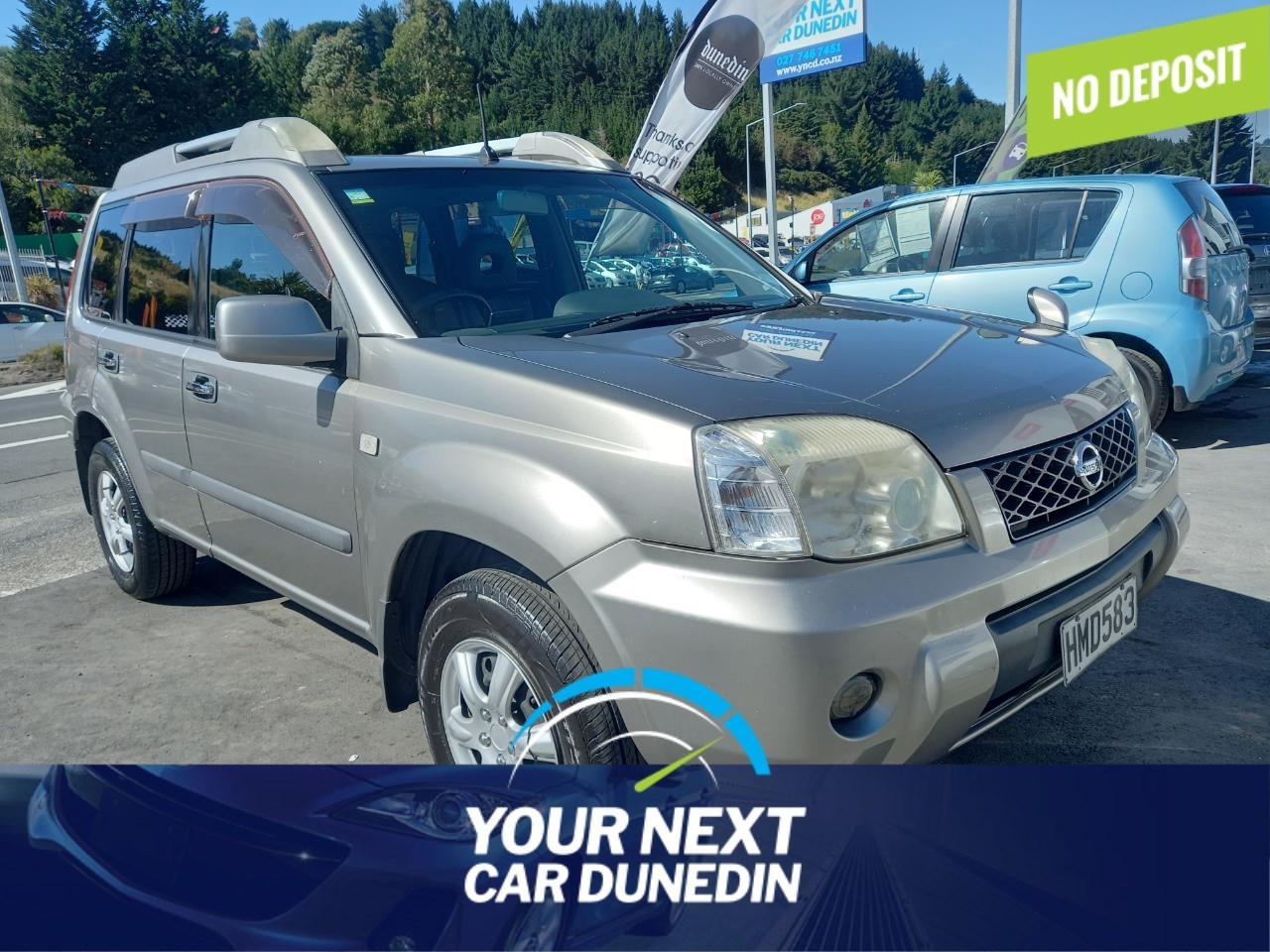 image-0, 2006 Nissan X-Trail 4WD No Deposit Finance at Dunedin