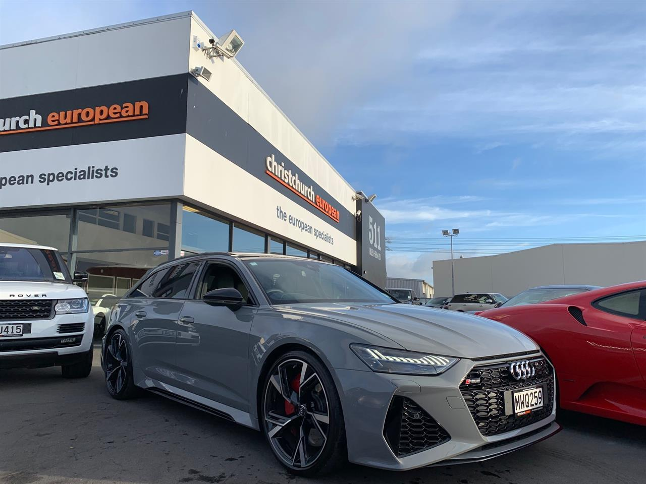 image-0, 2020 Audi RS6 4.0 V8T 441KW Launch Edition at Christchurch