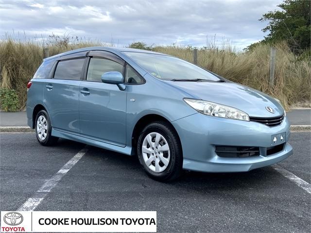 image-0, 2011 Toyota Wish 1.8 Petrol X 5 dr Wagon CVT 2WD at Dunedin