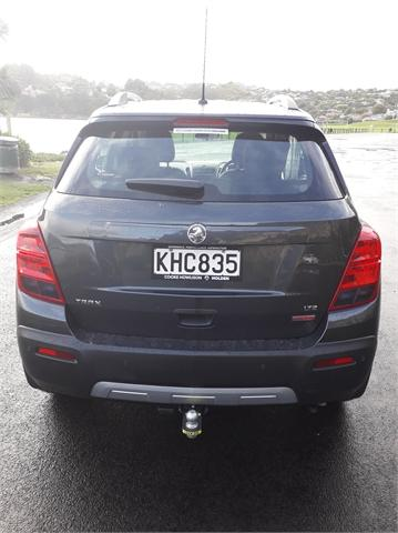 image-4, 2017 Holden Trax LTZ SUV 1.4L Turbo Auto at Dunedin