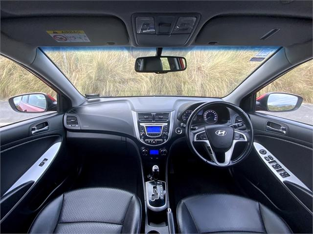 image-8, 2014 Hyundai Accent Hyundai Accent 1.6 5D A4 Elite at Dunedin