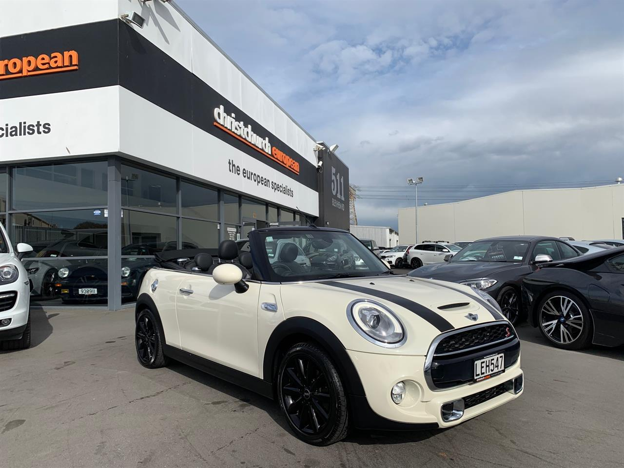 image-0, 2018 Mini Cooper S 2.0T 6 Speed Manual Cabriolet N at Christchurch