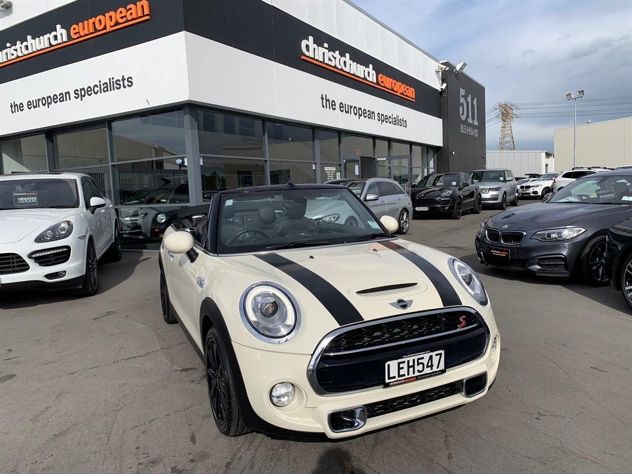image-1, 2018 Mini Cooper S 2.0T 6 Speed Manual Cabriolet N at Christchurch