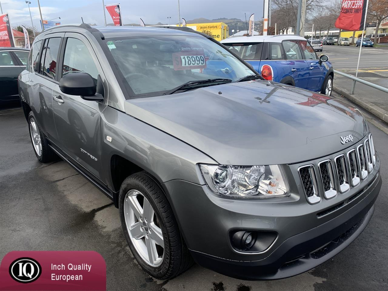 image-0, 2013 Jeep Compass 2.4 NZ NEW 4WD at Christchurch