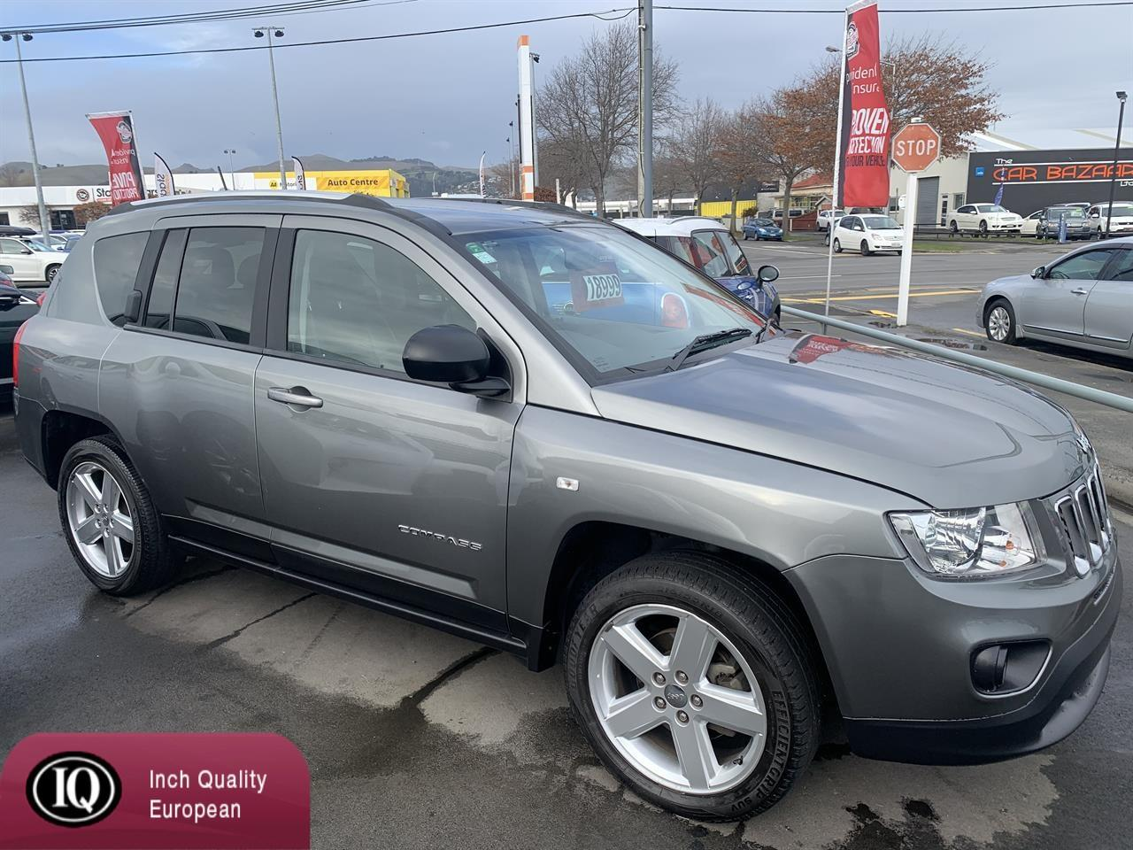 image-2, 2013 Jeep Compass 2.4 NZ NEW 4WD at Christchurch
