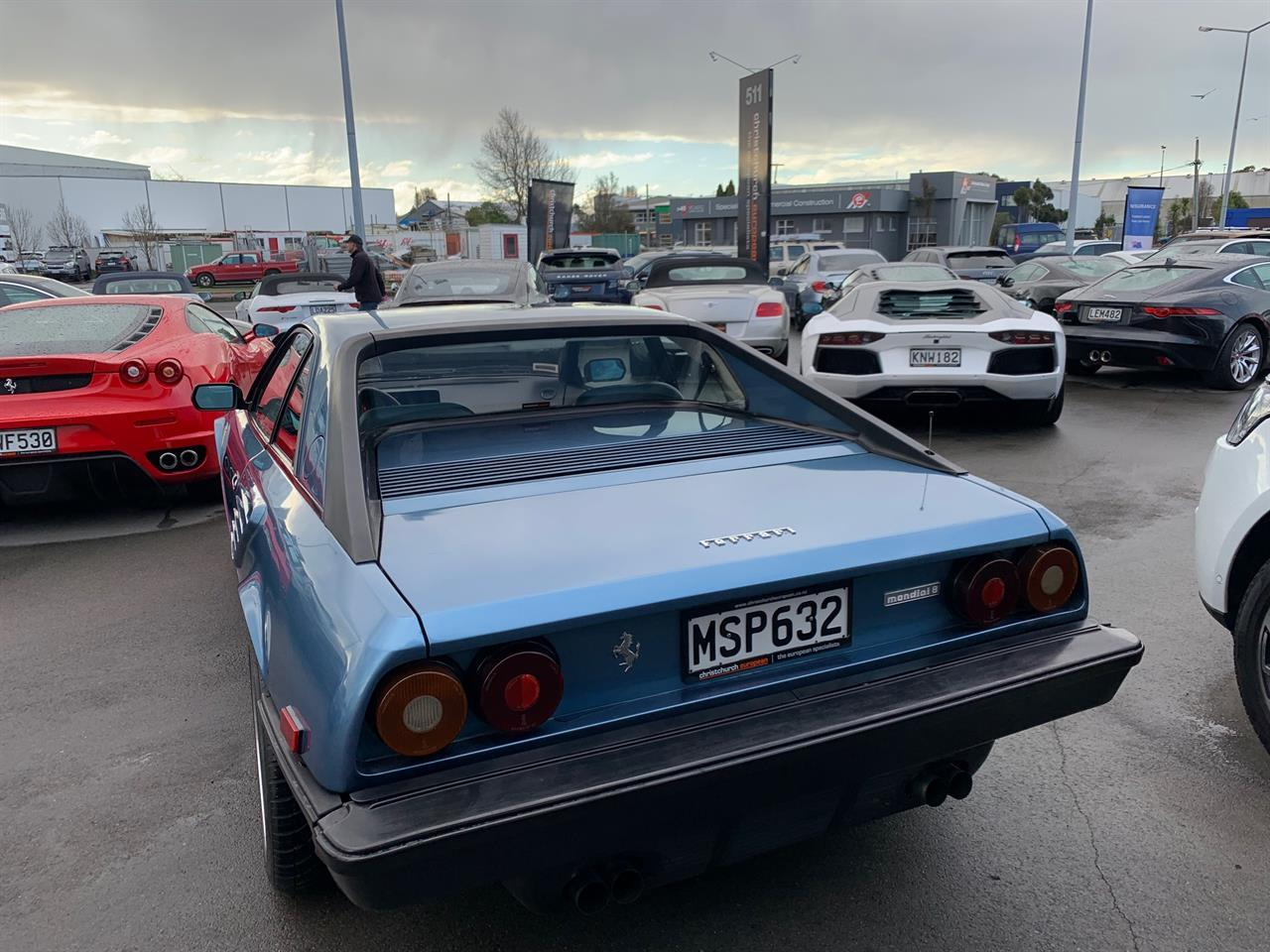 image-3, 1982 Ferrari Mondial 8 4 Seater Coupe at Christchurch