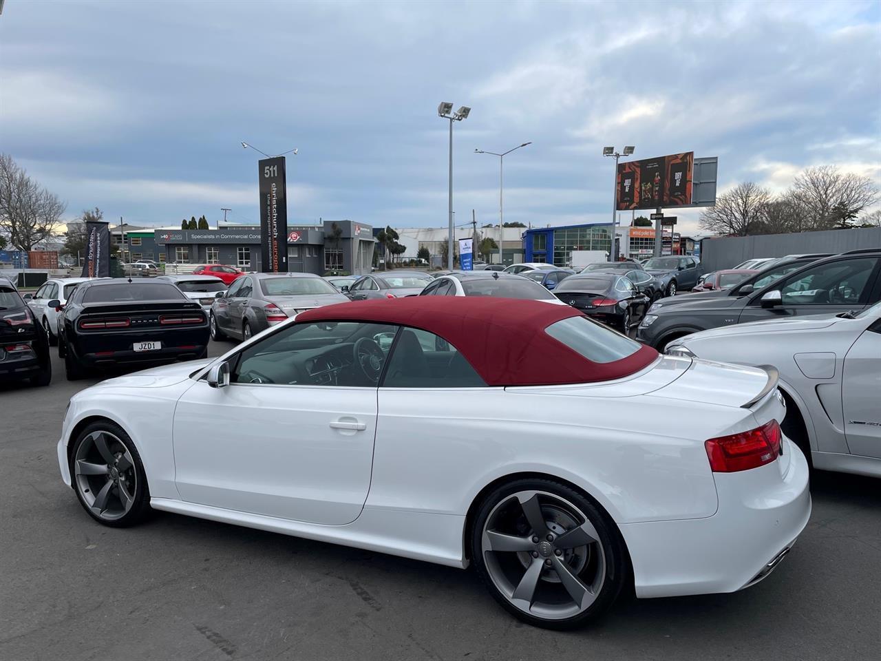 image-14, 2013 Audi RS5 4.2 V8 FSI Facelift Convertible at Christchurch