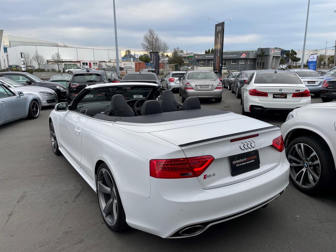 image-3, 2013 Audi RS5 4.2 V8 FSI Facelift Convertible at Christchurch