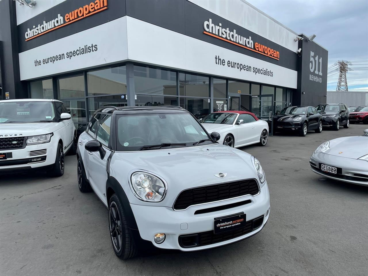 image-1, 2011 Mini Cooper S ALL4 AWD Crossover at Christchurch