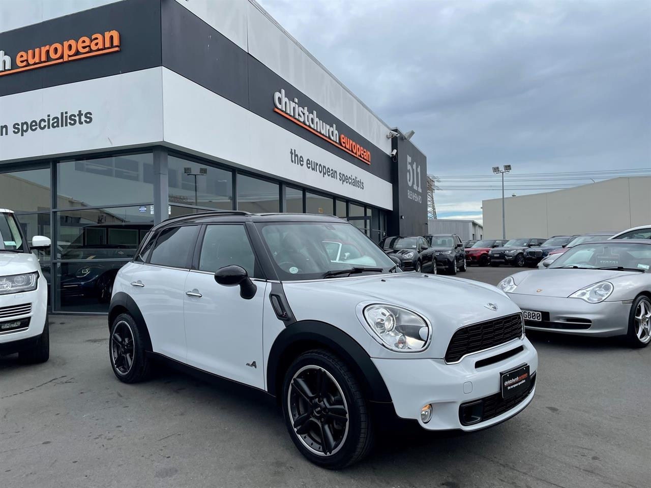 image-0, 2011 Mini Cooper S ALL4 AWD Crossover at Christchurch