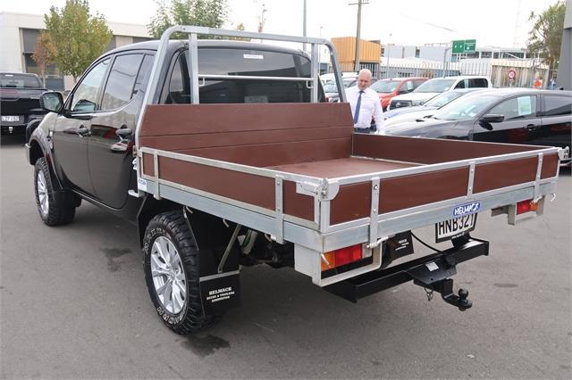 image-4, 2014 Mitsubishi Triton GL 2.5D Flat Deck 4WD at Christchurch