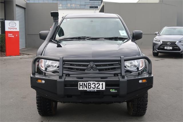 image-1, 2014 Mitsubishi Triton GL 2.5D Flat Deck 4WD at Christchurch