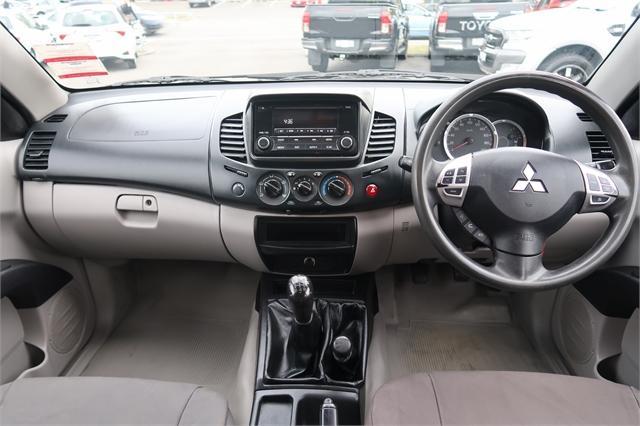image-10, 2014 Mitsubishi Triton GL 2.5D Flat Deck 4WD at Christchurch