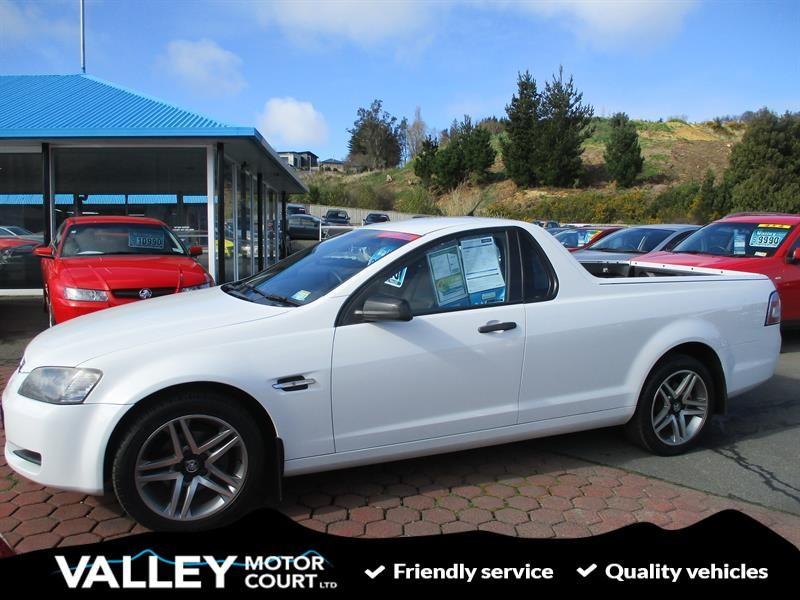 2009 HOLDEN COMMODORE UTE V6 AUTO for sale in Dunedin
