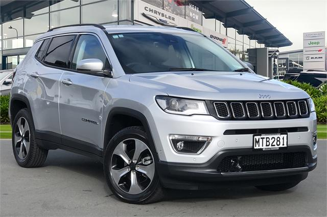 image-0, 2020 Jeep Compass Limited 2.4Lt Petrol at Christchurch