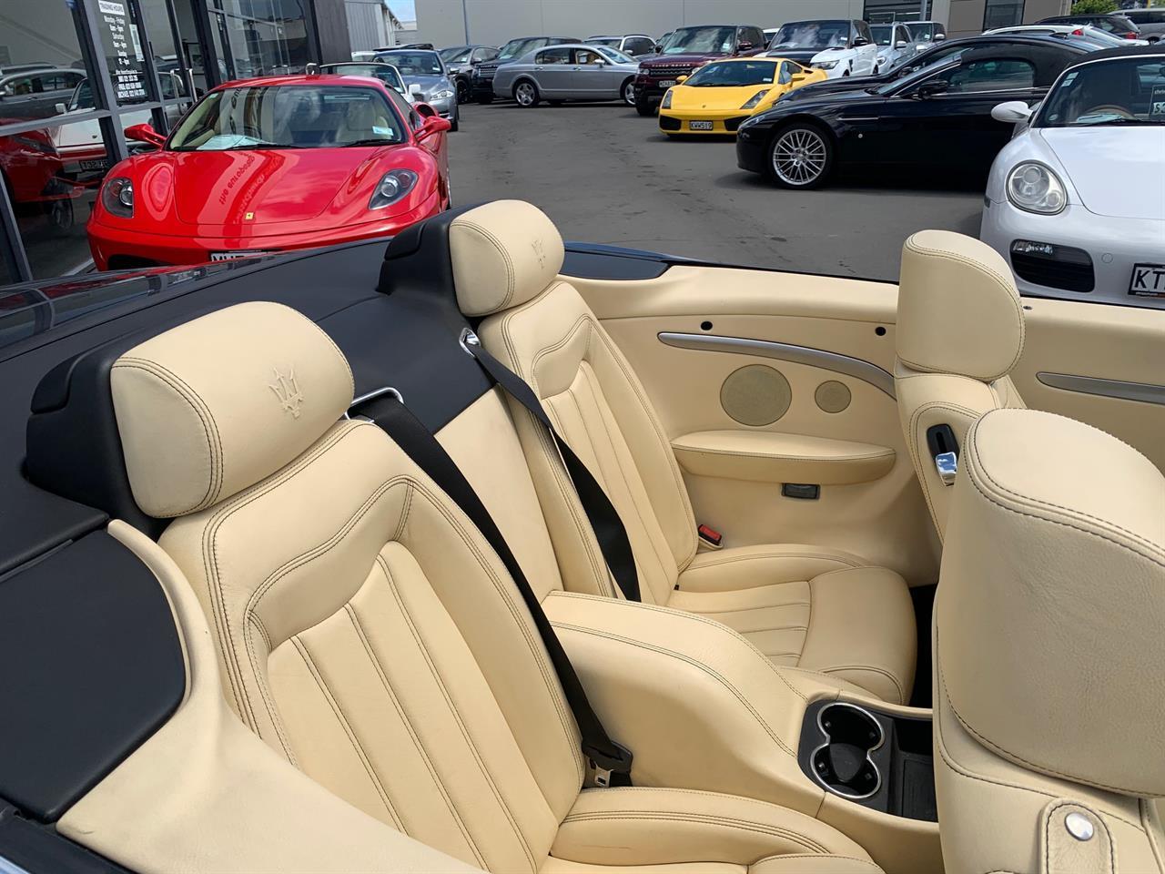 image-8, 2012 Maserati GranCabrio 4.7 V8 Roadster at Christchurch