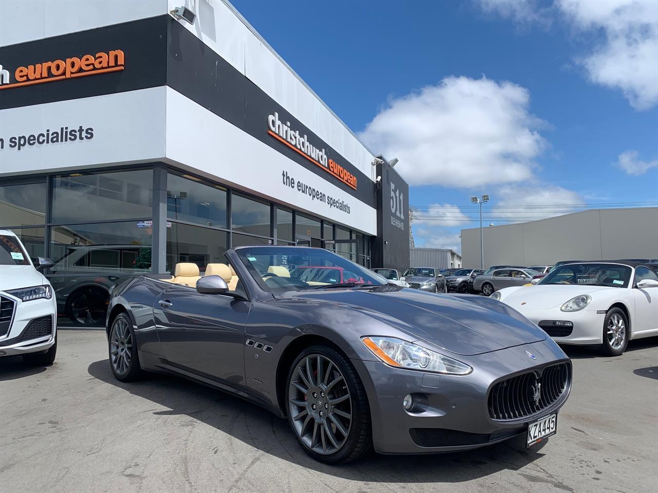 image-0, 2012 Maserati GranCabrio 4.7 V8 Roadster at Christchurch