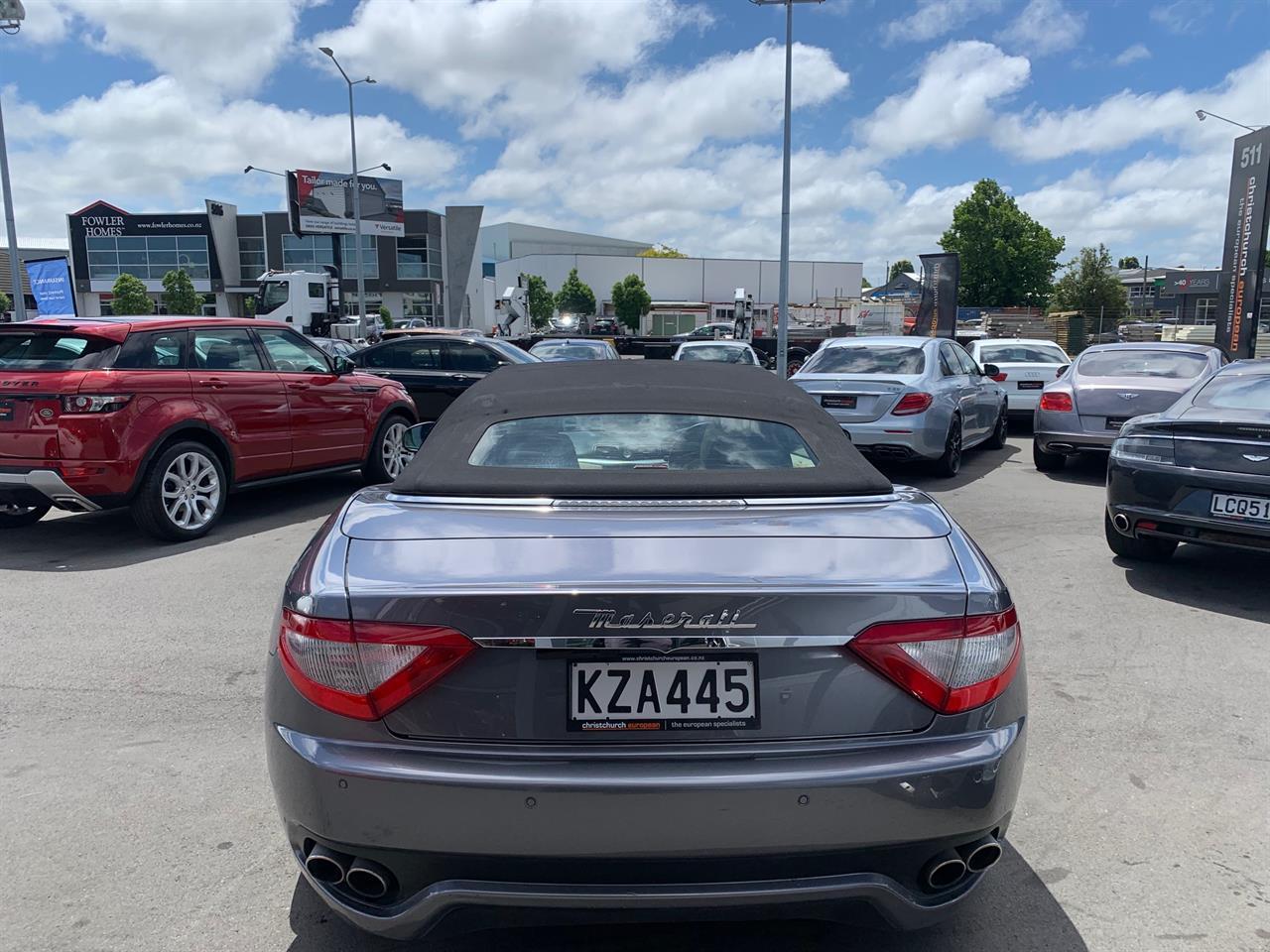 image-12, 2012 Maserati GranCabrio 4.7 V8 Roadster at Christchurch