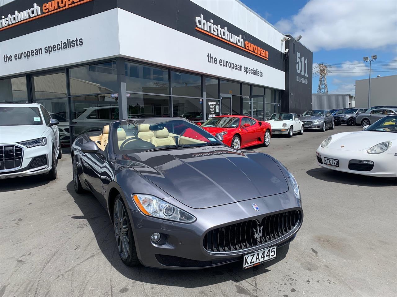 image-1, 2012 Maserati GranCabrio 4.7 V8 Roadster at Christchurch