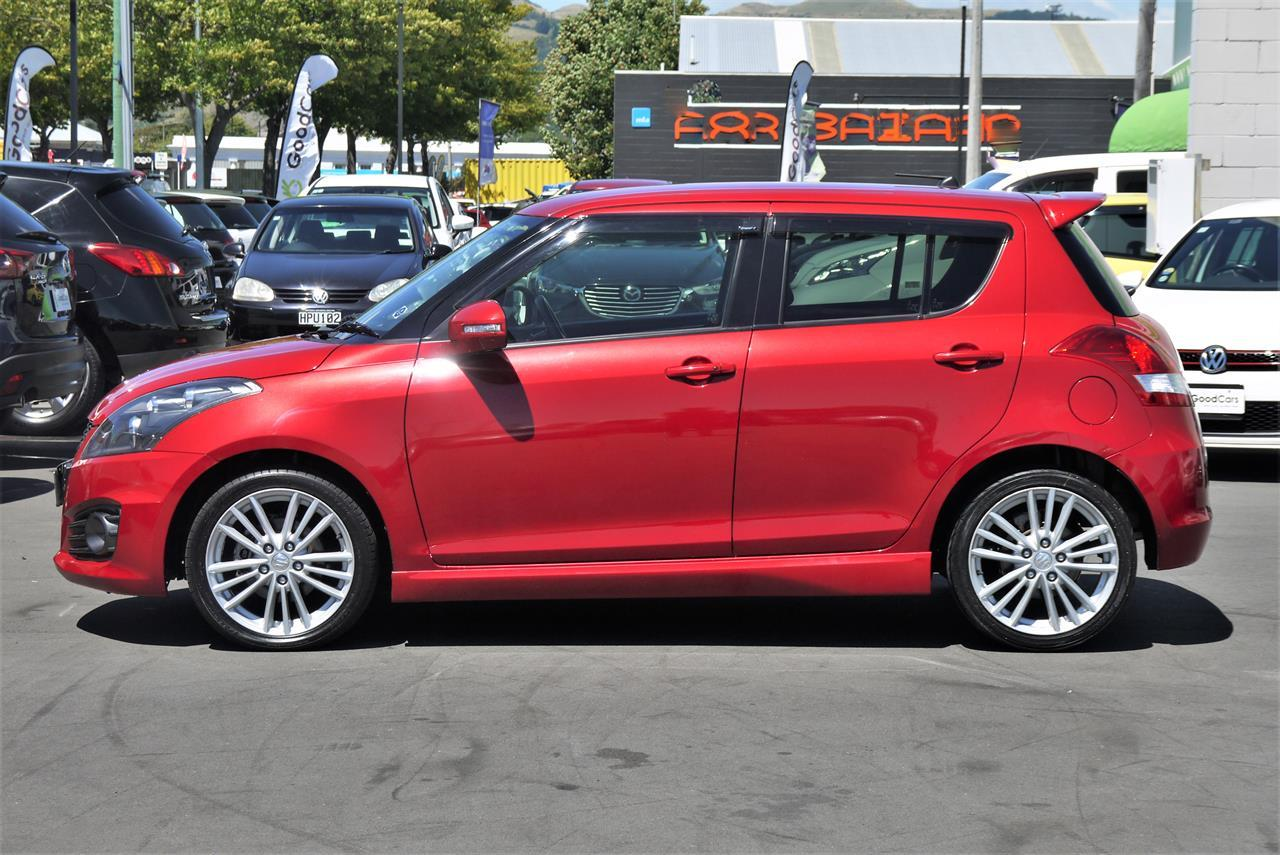 image-5, 2014 Suzuki Swift SPORT EDITION at Christchurch