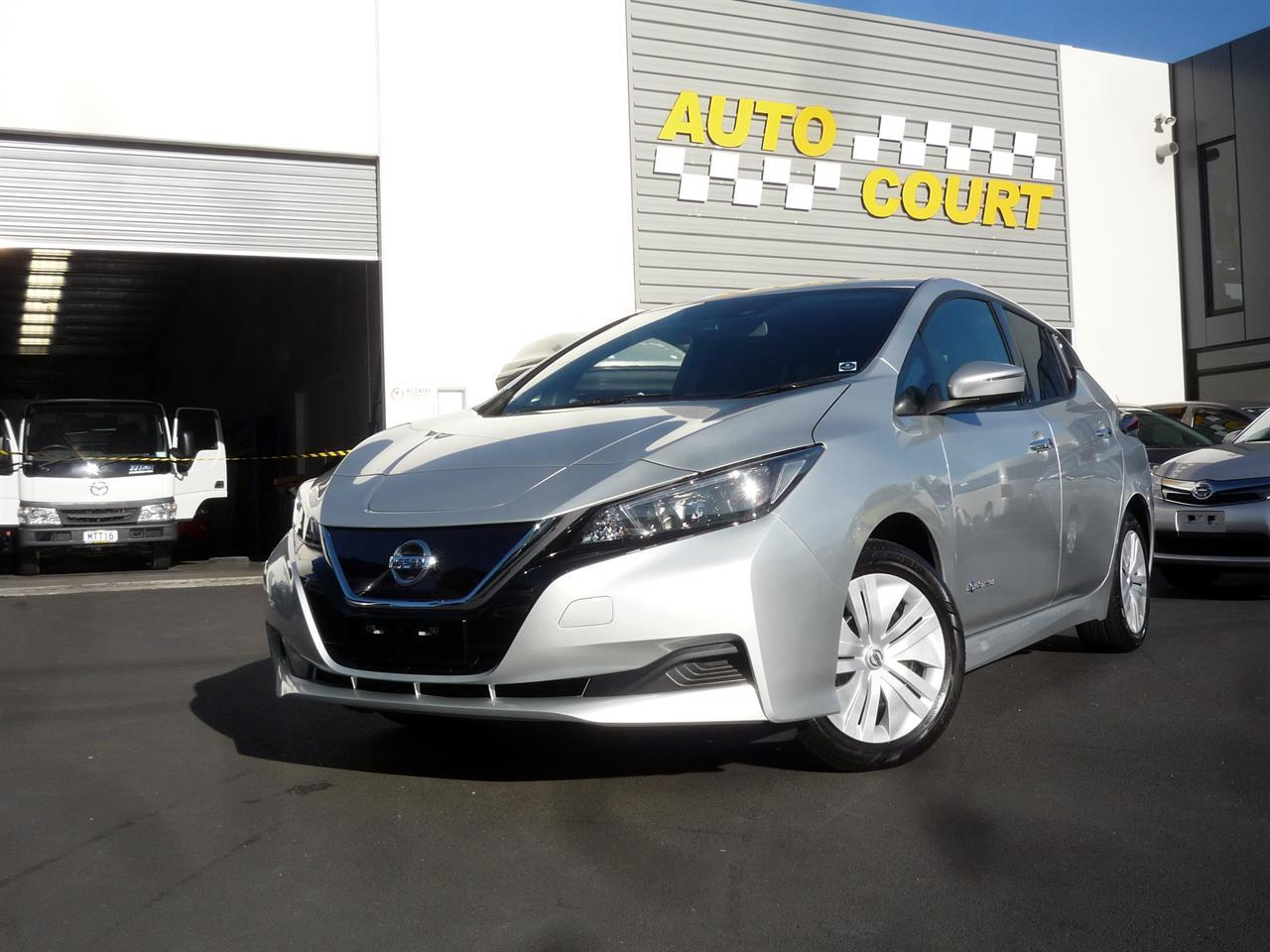 2018 nissan leaf 40x 40kw for sale in dunedin