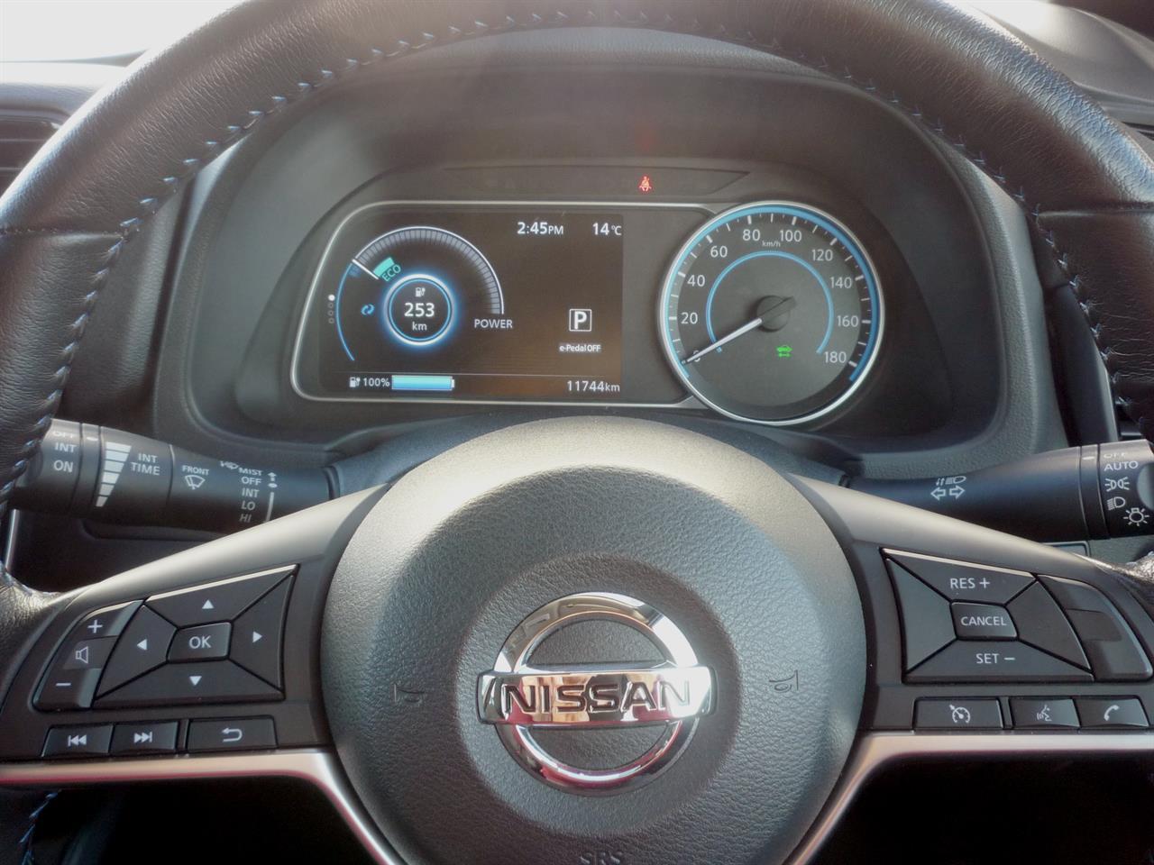 image-3, 2018 Nissan Leaf 40X (SOH 91.80%) at Dunedin