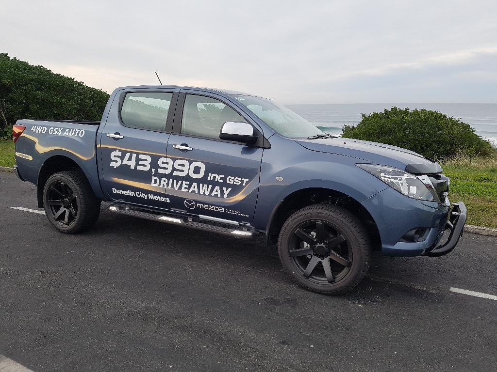 image-0, 2020 Mazda BT-50 DOUBLE CAB 4WD GSX W/S 6AT at Dunedin
