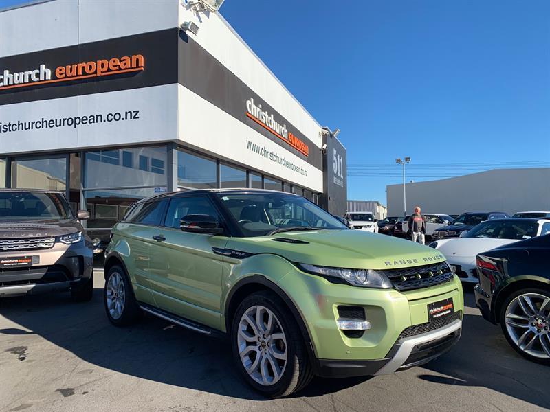 image-0, 2012 LandRover Range Rover Evoque 2.0 T SI4 Dynami at Christchurch