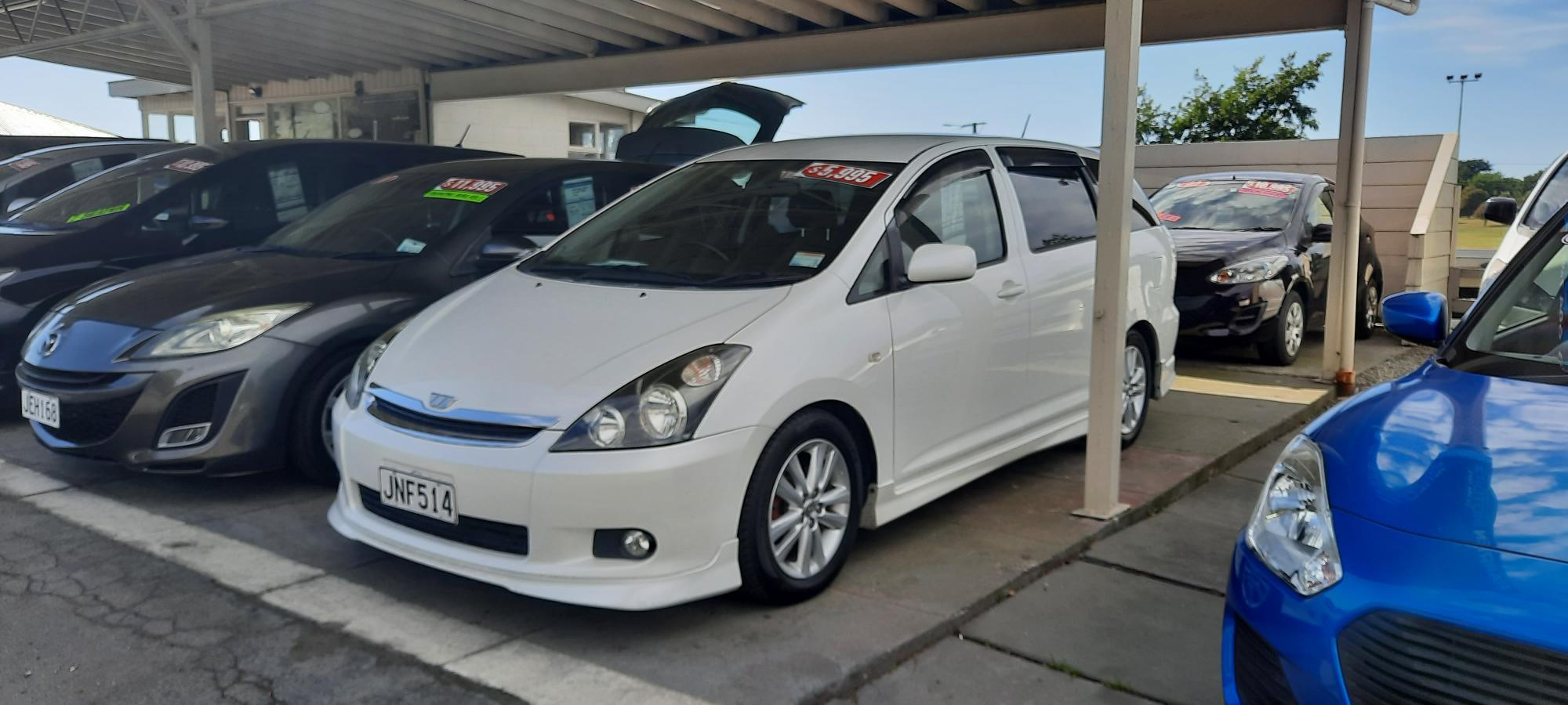image-0, toyota wish 7 seater at Timaru