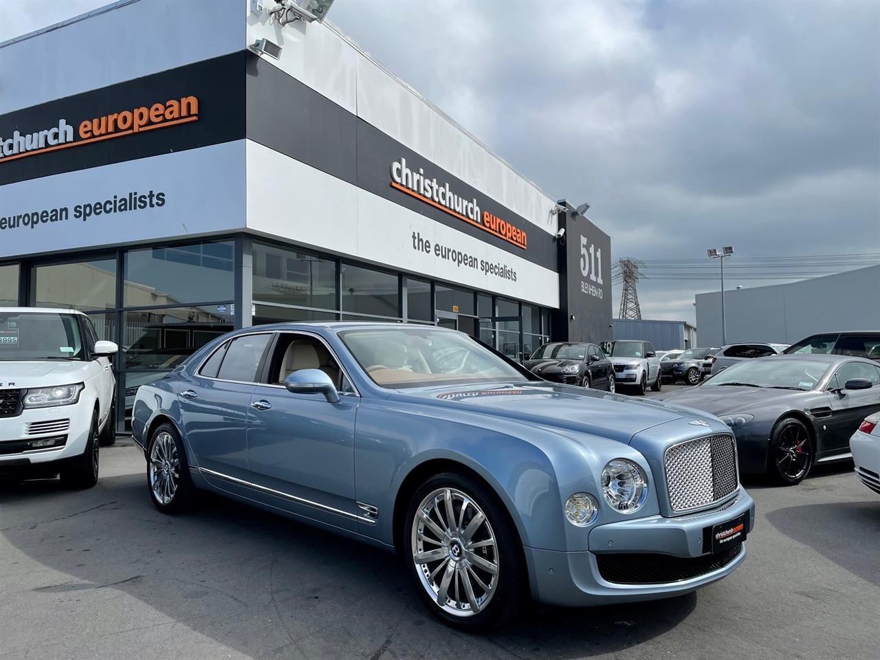 image-0, 2014 Bentley Mulsanne 6.7 V8 Turbo Mulliner at Christchurch
