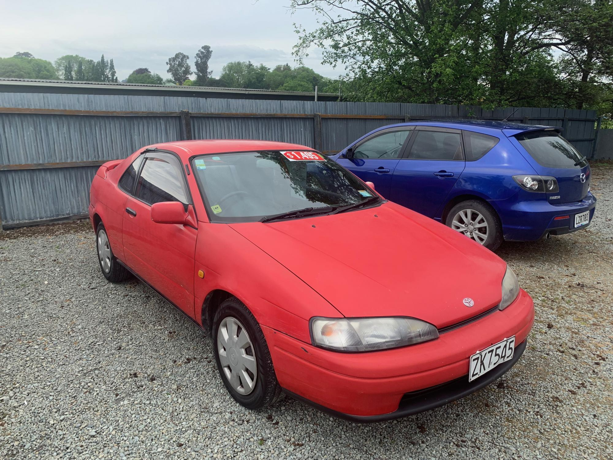 image-0, '94 Toyota Cynos Coupe  at Timaru
