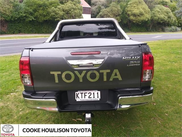 image-5, 2017 Toyota Hilux 4WD SR5 LIMITED 2.8DT DOUBLE CAB at Dunedin