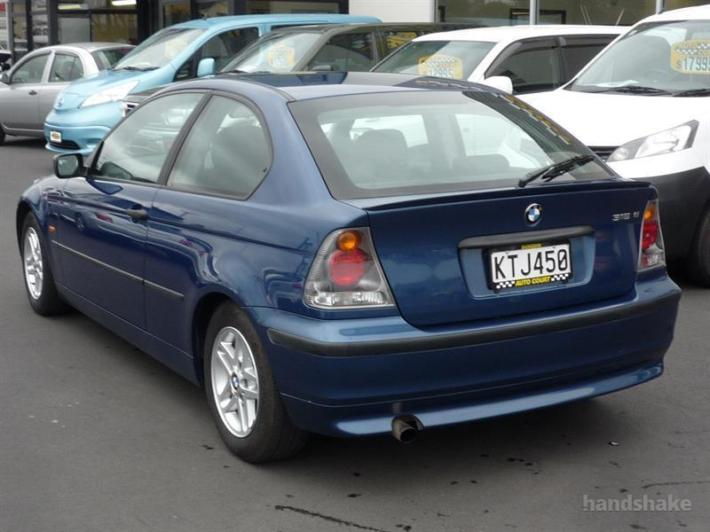 2002 Bmw 316ti Compact On Handshake
