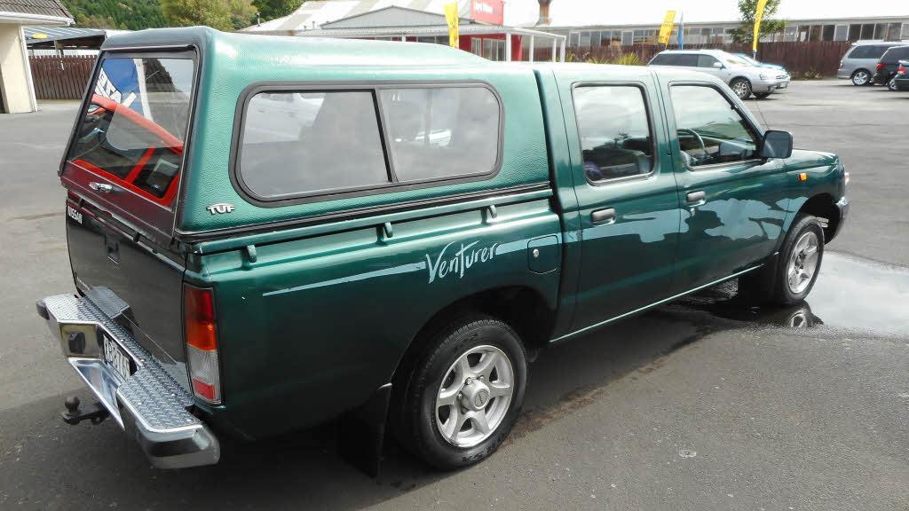 image-4, 1998 Nissan Navara 2WD D/C Vent. 2.7D D/C VENT. at Dunedin