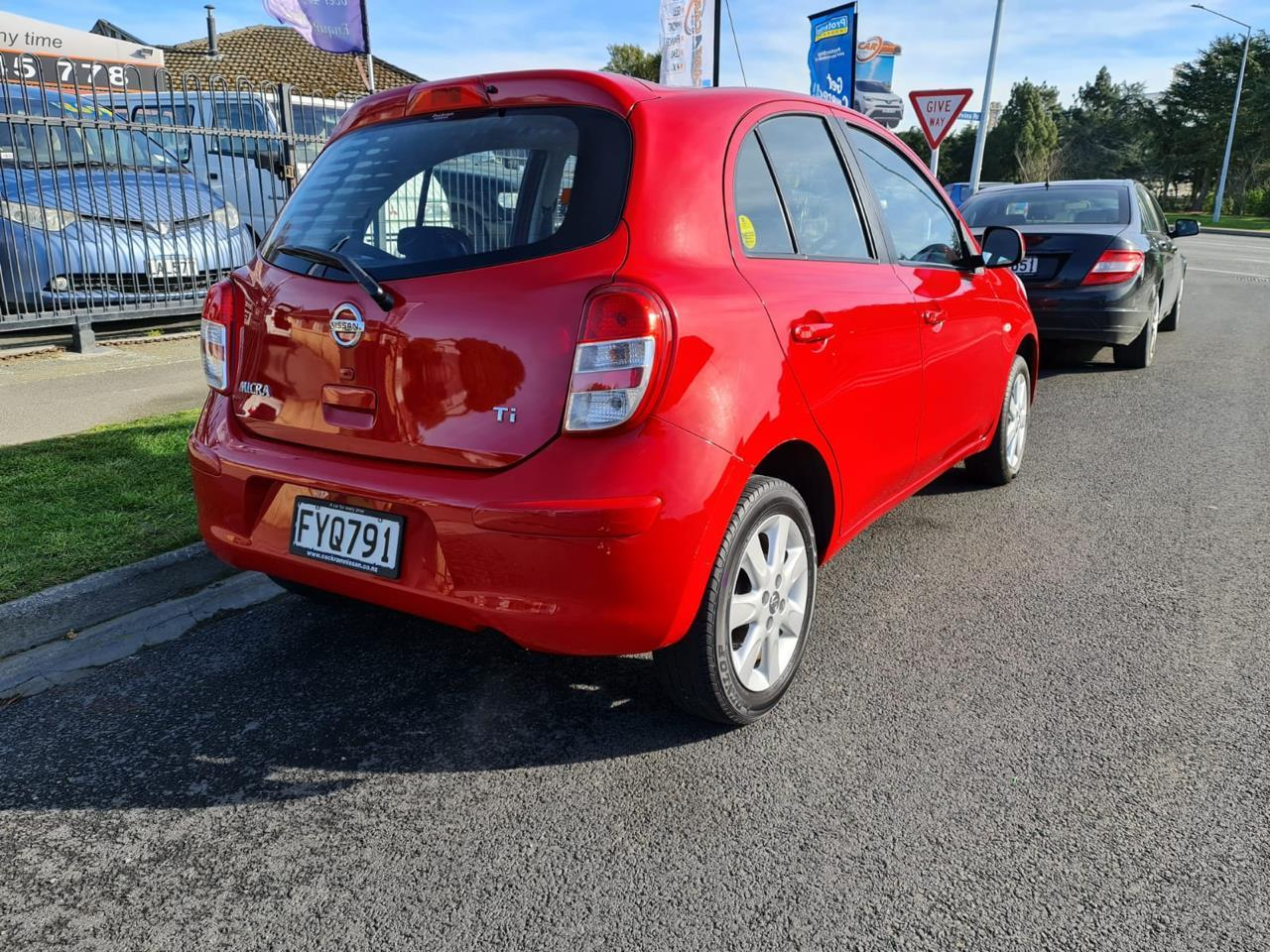 image-4, 2011 Nissan Micra 1.5 RED HATCH at Christchurch