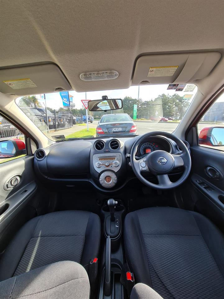 image-6, 2011 Nissan Micra 1.5 RED HATCH at Christchurch