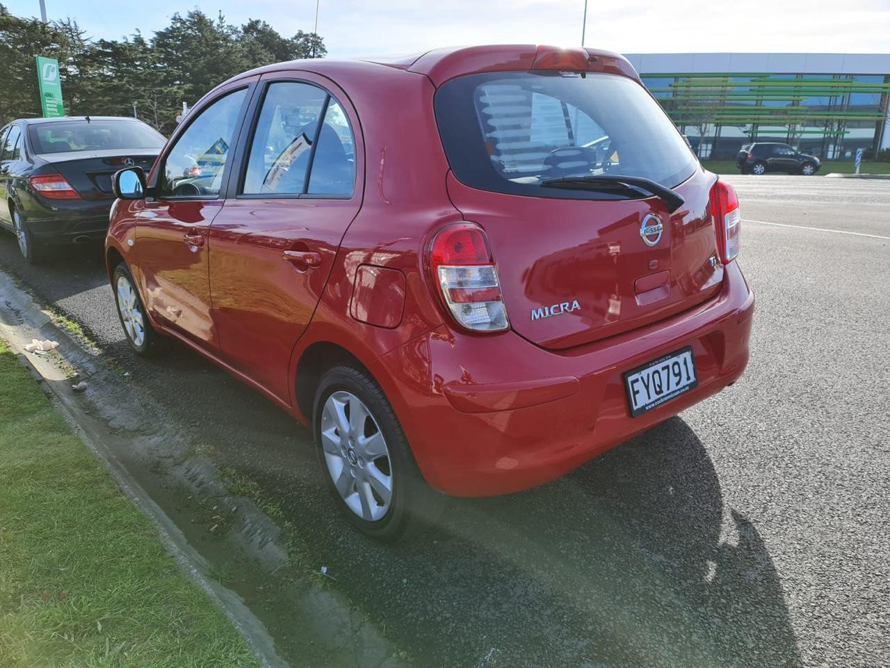 image-8, 2011 Nissan Micra 1.5 RED HATCH at Christchurch