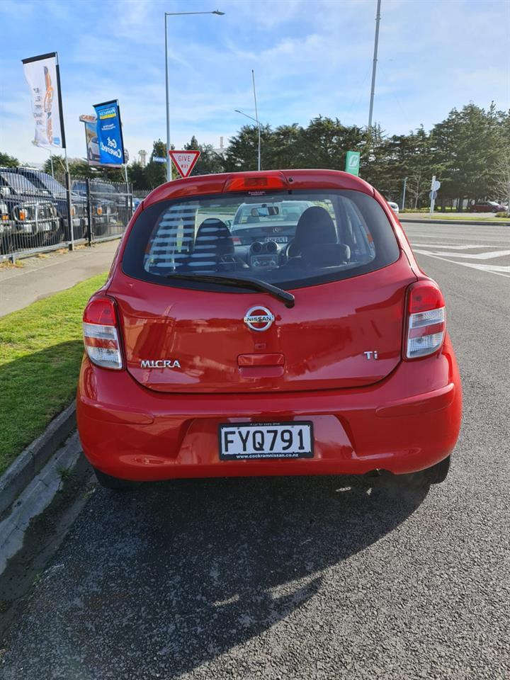 image-3, 2011 Nissan Micra 1.5 RED HATCH at Christchurch