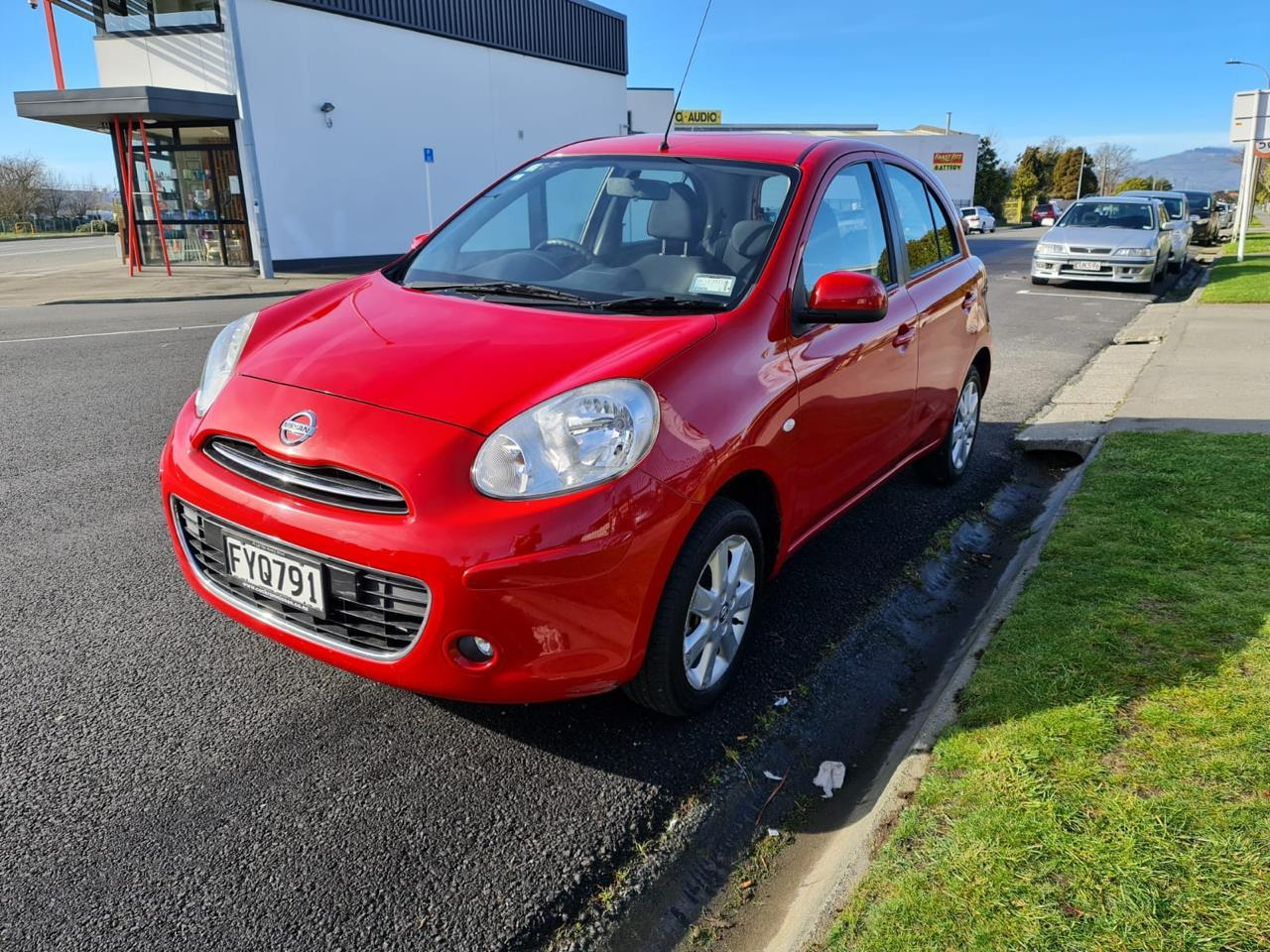 image-5, 2011 Nissan Micra 1.5 RED HATCH at Christchurch