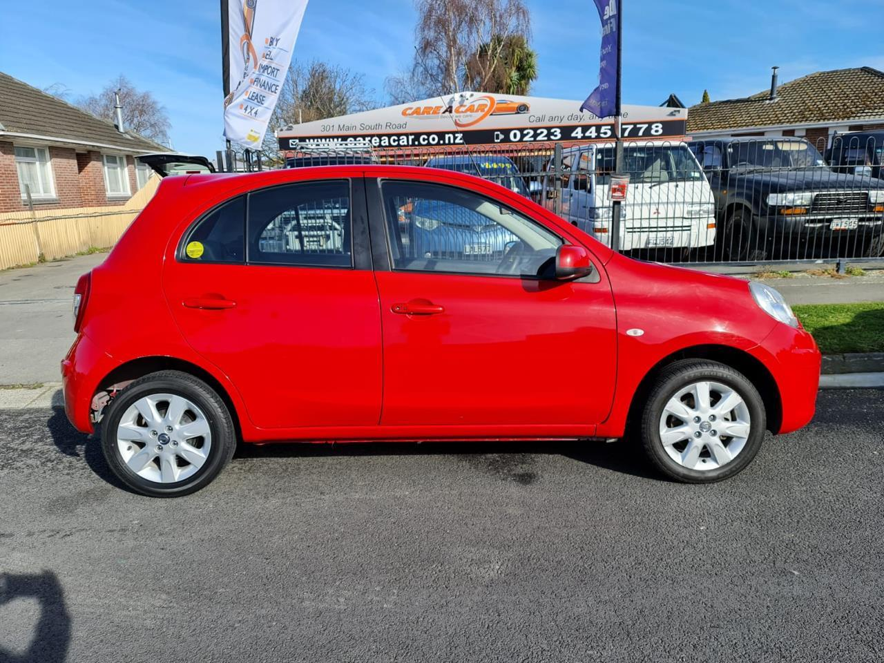 image-2, 2011 Nissan Micra 1.5 RED HATCH at Christchurch