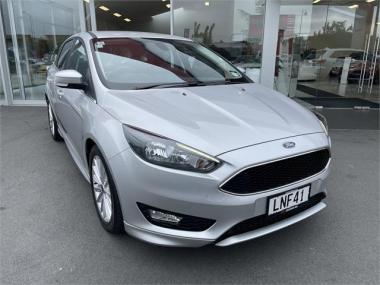 2018 Ford Focus SPORT 1.5L AUTO NZ NEW LOW KM