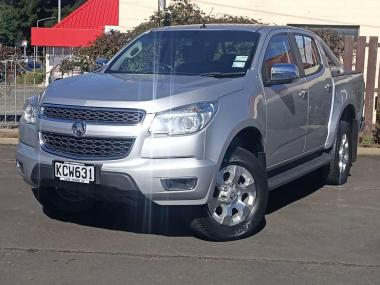 2016 Holden Colorado LTZ DC PU 2.8D/6AT/U LTZ DC P