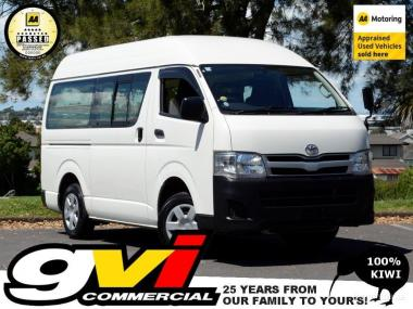 2013 Toyota Hiace Highroof * 5 Door / 5 Speed * No